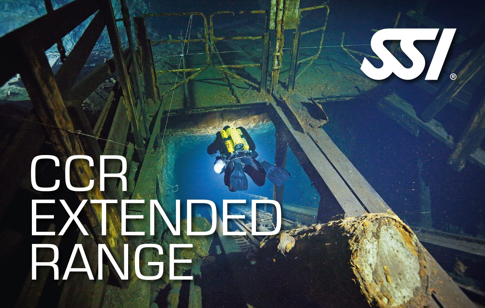 SSI CCR Extended Range Course | SSI CCR Extended Range | CCR Extended Range | Diving Course