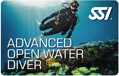 SSI Advanced Open Water Diver Course | Diving Courses